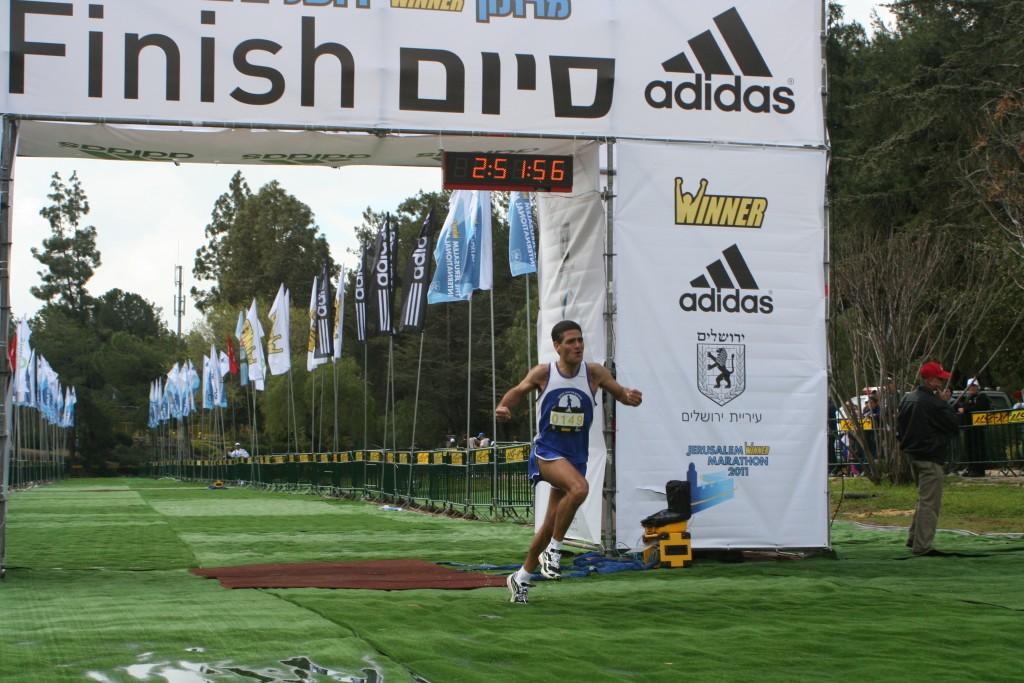 מרתון ירושלים 2011