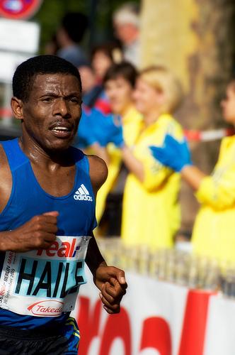Haile Gebrselassie (ETH) Winner